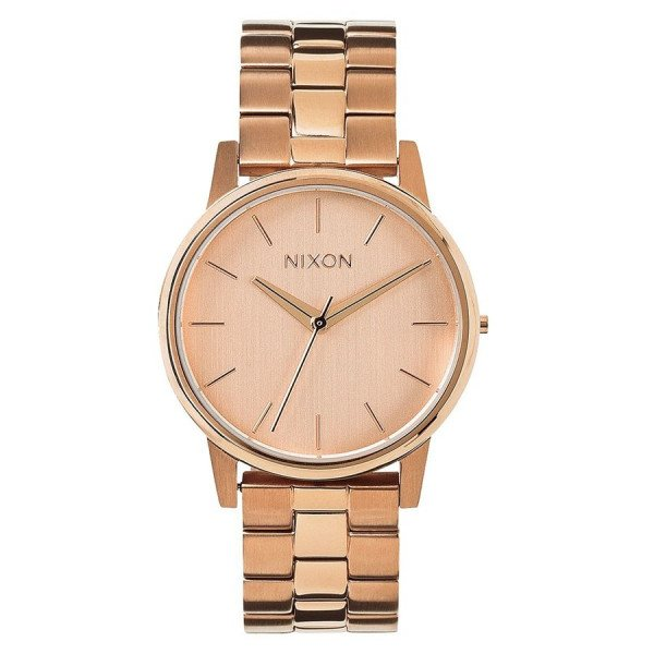 NIXON PULKSTENIS SMALL KENSINGTON ALL ROSE GOLD