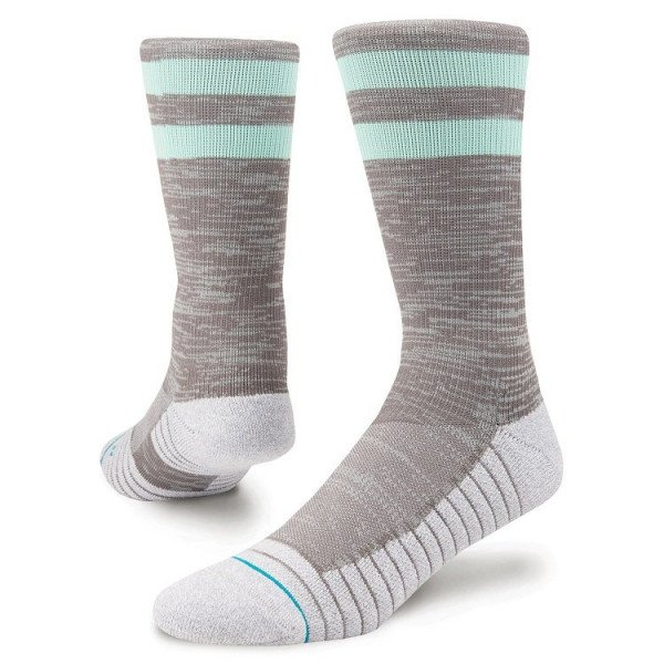 STANCE ZEĶES ATHLETIC FUSION ATHLETIC FRANCHISE GREY