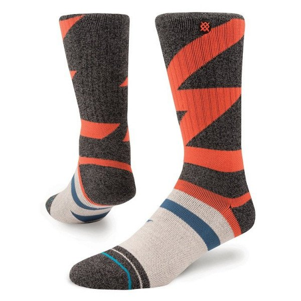 STANCE ZEĶES ADVENTURE M COTTONWOOD ADV BLACK