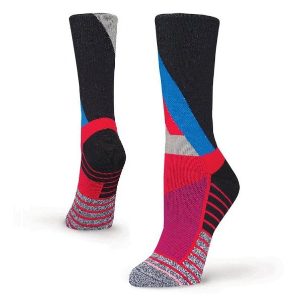 STANCE ZEĶES W ATHLETIC FUSION FOCUS CREW RED