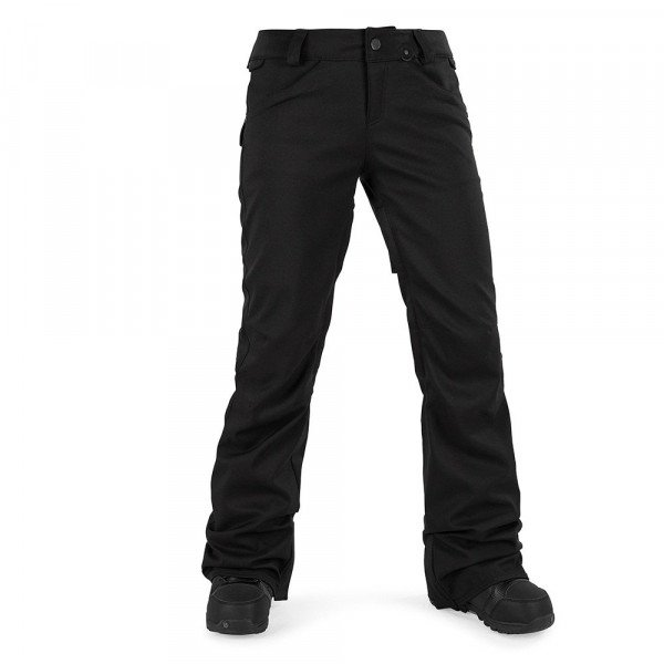 VOLCOM PANTS SPECIES STRETCH PANT BLK W17