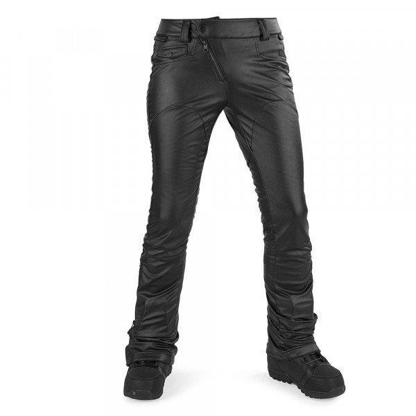 VOLCOM PANTS BATTLE F.LEATHER PANT BLK W17