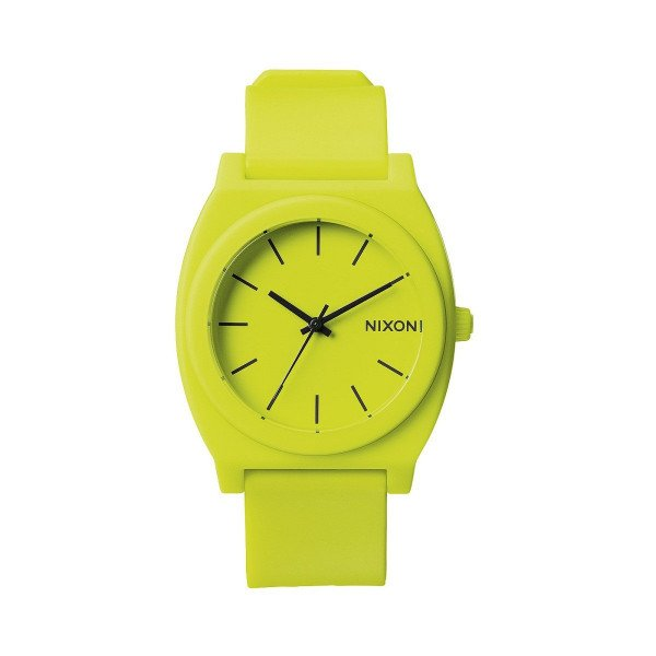 NIXON WATCH TIME TELLER P NEON YELLOW