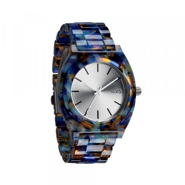 NIXON WATCH TIME TELLER ACETATE WATERCOLOR