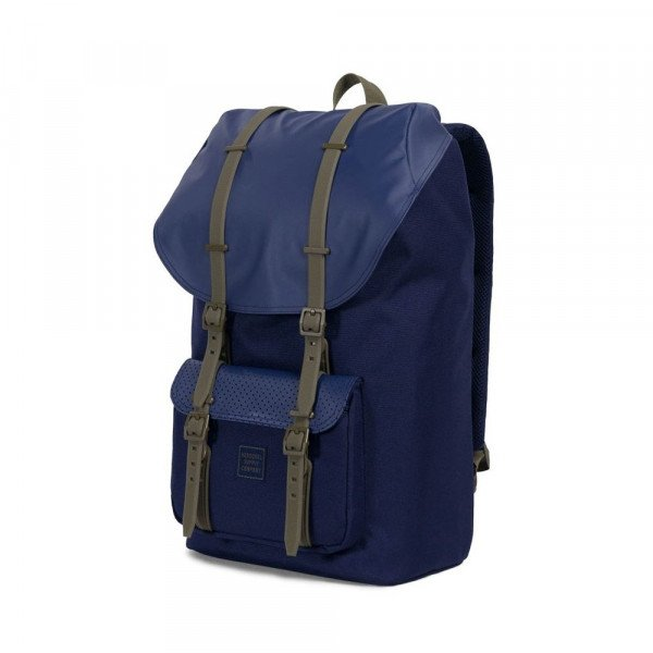 HERSCHEL BACKPACK LITTLE AMERICA PEACOAT KALAMATA