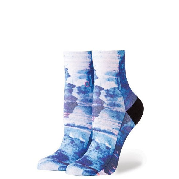 STANCE ZEĶES FOUNDATION WOMEN TROPIC STORM BLUE