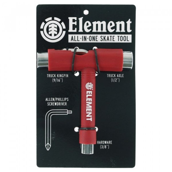 ELEMENT SKATE TOOL RED