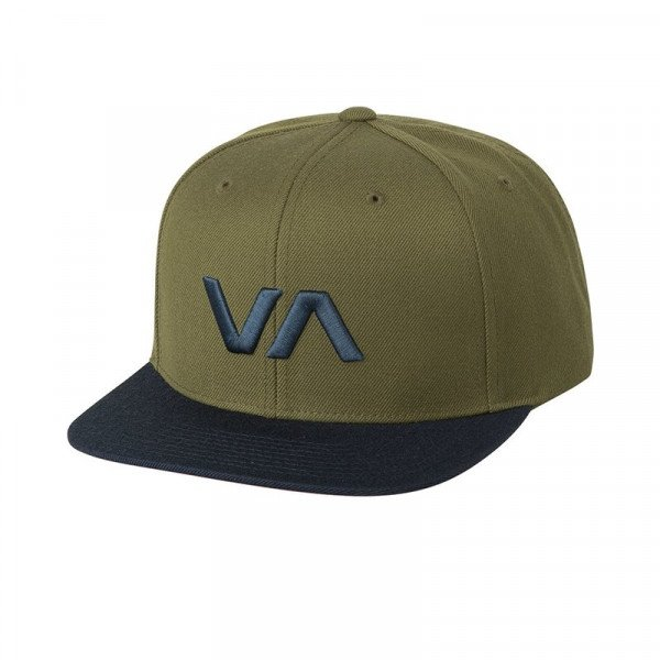 RVCA CEPURE VA SNAPBACK II BUCKTHORN S18