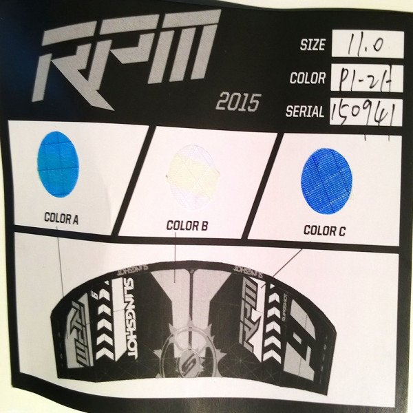 SLINGSHOT PŪĶIS RPM 11 M 2015