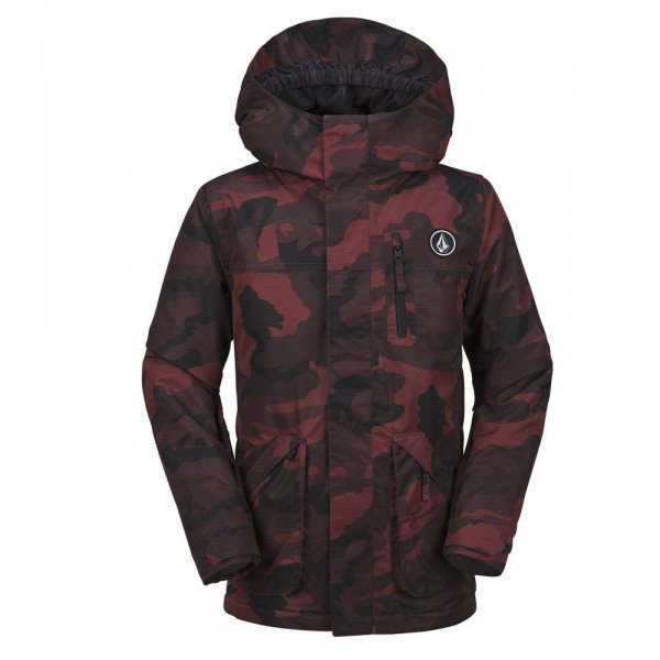 VOLCOM JAKA VS INS JACKET KIDS RED W17