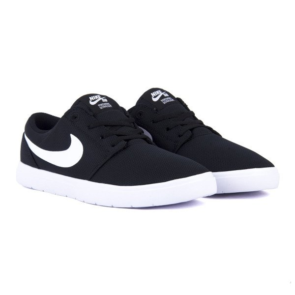 NIKE APAVI PORTMORE II ULTRALIGHT (GS) BLACK WHITE S18