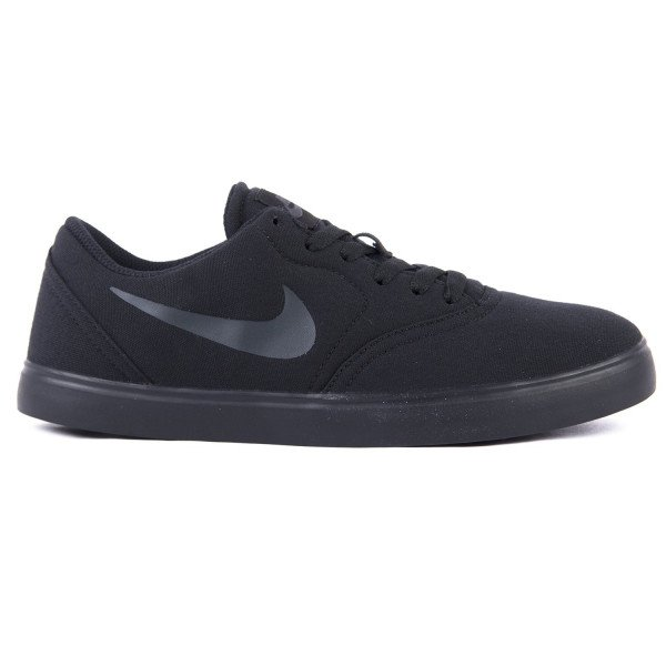 NIKE SHOES SB CHECK CNVS (GS) BLACK ANTHRACITE