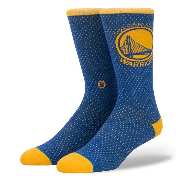 STANCE SOCKS NBA ARENA WARRIORS JERSEY BLUE