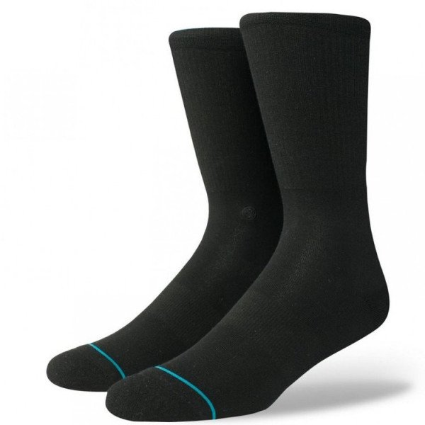 STANCE ZEĶES UNCOMMON SOLIDS FASHION ICON BLACK