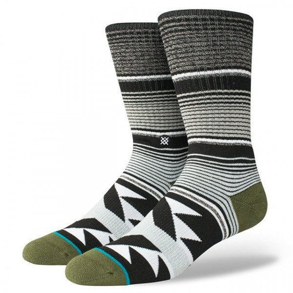STANCE SOCKS BLUE FOUNDATION SAN BLAS BLACK