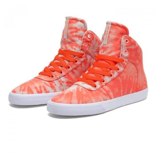 SUPRA APAVI CUTTLER WMNS NEON ORANGE CEMENT FALL13