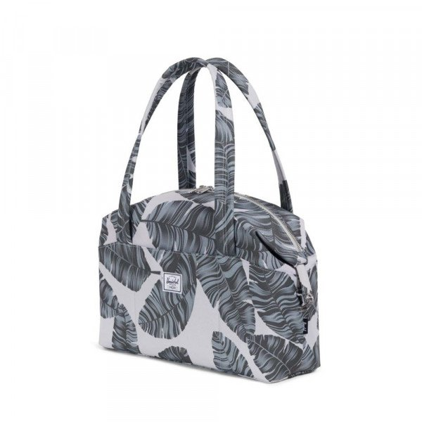 HERSCHEL SOMA STRAND X-SMALL SILVER BIRCH PALM