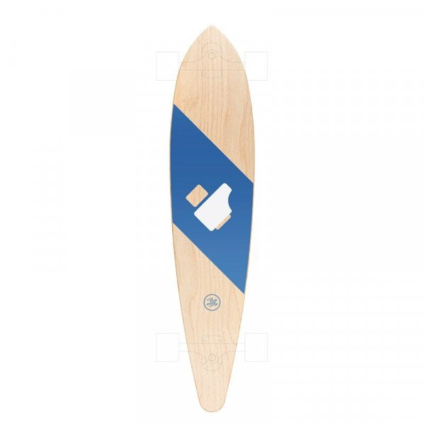 LOKAL BOARDS CLASSIC PINTAIL HARD LIKE DECK