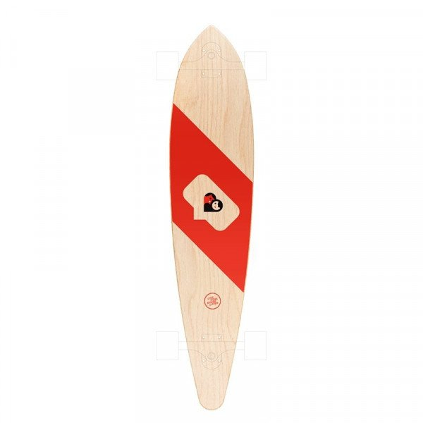 LOKAL BOARDS CLASSIC PINTAIL LOVE STORY DECK