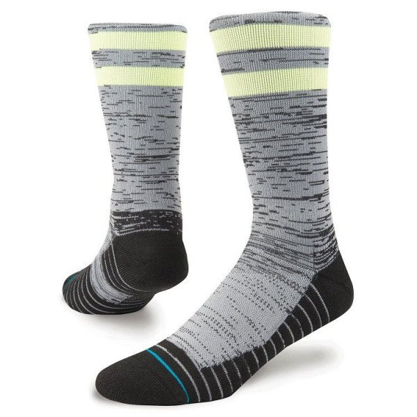 STANCE SOCKS ATHLETIC FUSION ATHLETIC FRANCHISE BLACK