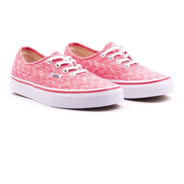 VANS APAVI AUTHENTIC (DENIM CHEVRON) CORAL TRUE WHITE F15