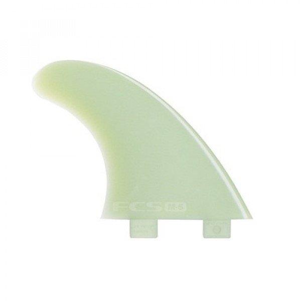 FCS SPURAS M5 NATURAL GLASS FLEX TRI FIN SET