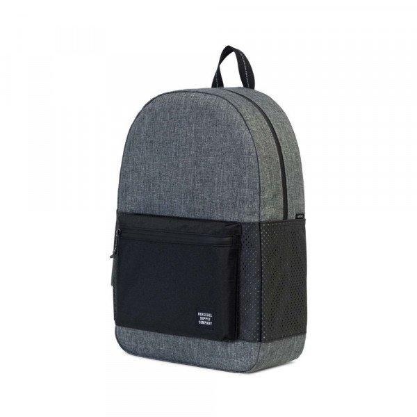 HERSCHEL SOMA SETTLEMENT RAVEN CROSSHATCH BLACK