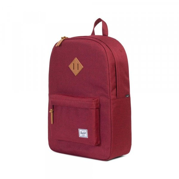 HERSCHEL SOMA HERITAGE WINETASTING CROSSHATCH TAN LEATHER F17