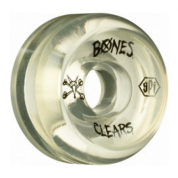BONES SK8RITEŅI CLEAR NATURAL 58 MM