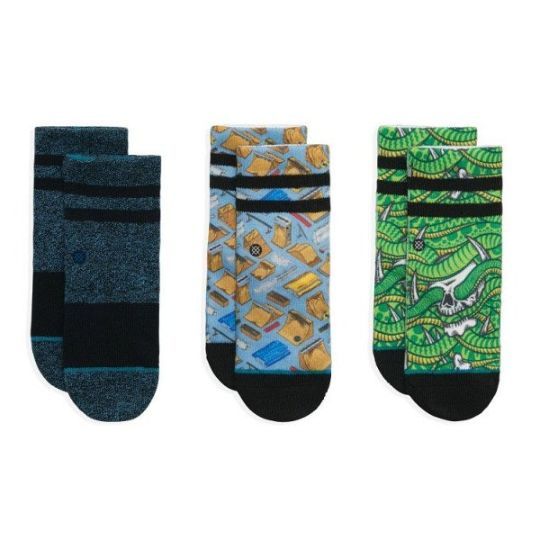 STANCE ZEĶES THRASHER BOX KIDS MULTI