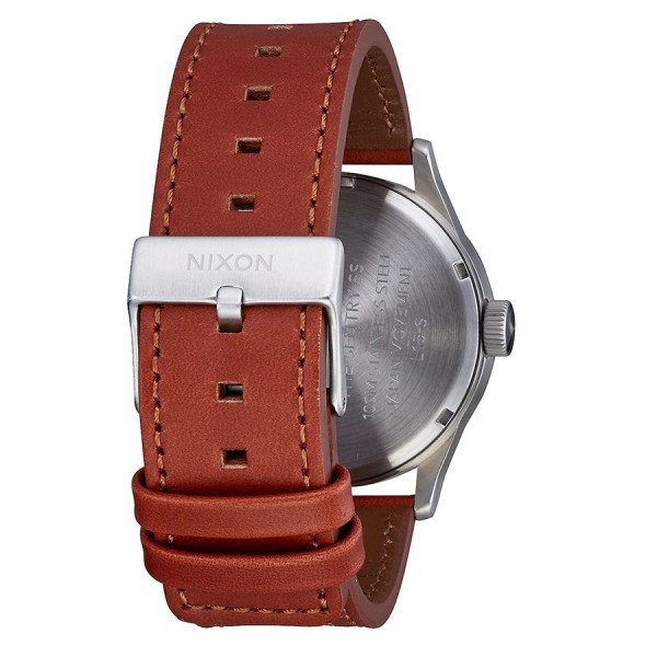 NIXON PULKSTENIS SENTRY LEATHER WHITE SUNRAY SADDLE