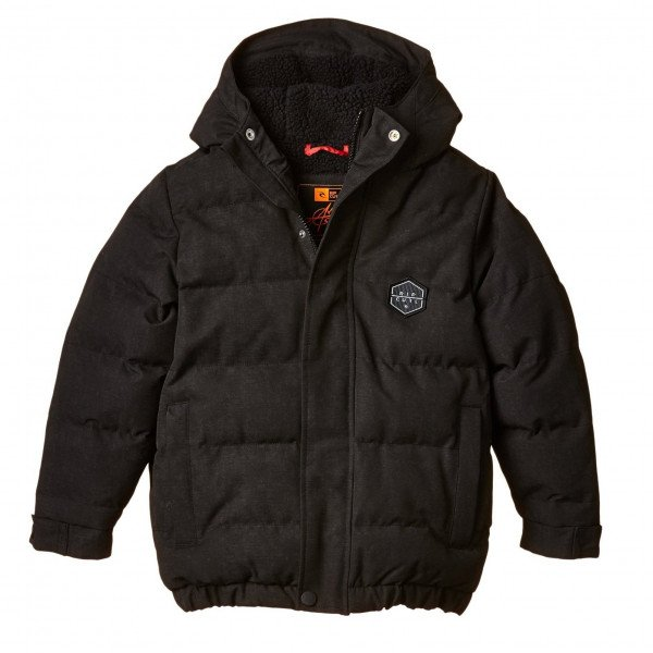 RIP CURL JAKA ANTI MUNDAKA JACKET KIDS BLACK W15