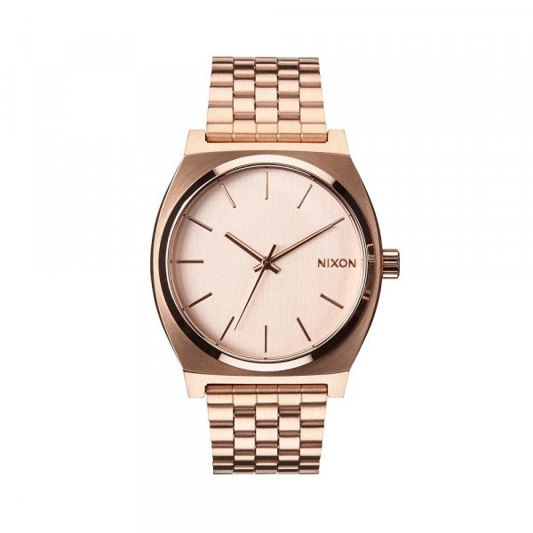 NIXON PULKSTENIS TIME TELLER ALL ROSE GOLD