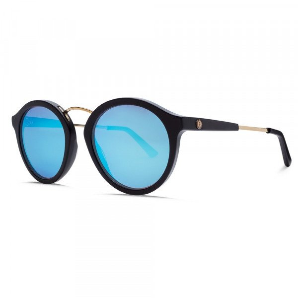 ELECTRIC BRILLES MIXTAPE MATTE BLK/SKY BLUE CHROME