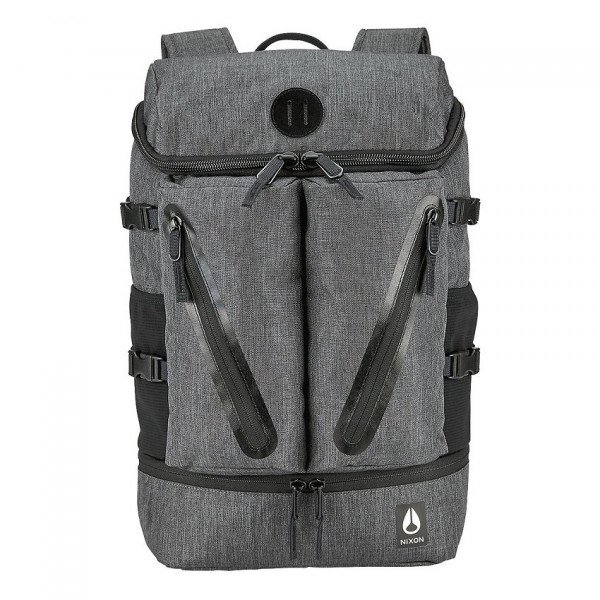 NIXON SOMA SCRIPPS BACKPACK II CHARCOAL HEATHER