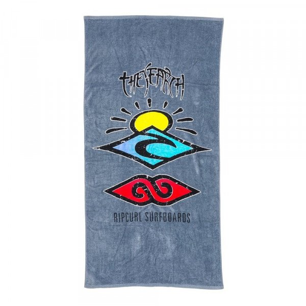 RIP CURL DVIELIS THE SEARCH TOWEL GREY S17