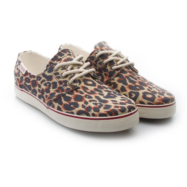 CIRCA SHOES CRIP LEOPARD BONE WHITE