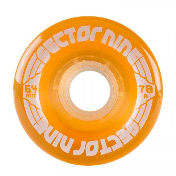 SECTOR 9 RITENTIŅI NINEBALLS 64MM 78A LIGHT ORANGE