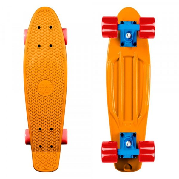 LONG ISLAND PENNY BOARD PLASTIC ORANGE 22