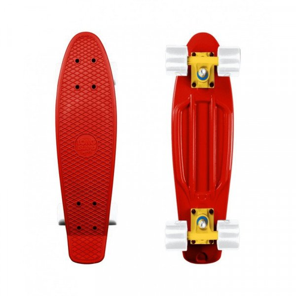 LONG ISLAND PENNY BOARD PLASTIC RED 22