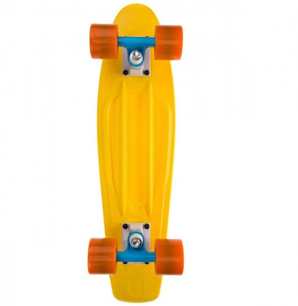 LONG ISLAND PENNY BOARD PLASTIC YELLOW 22