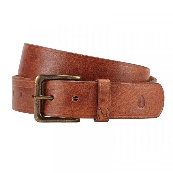 NIXON JOSTA DNA BELT BROWN WASH F17
