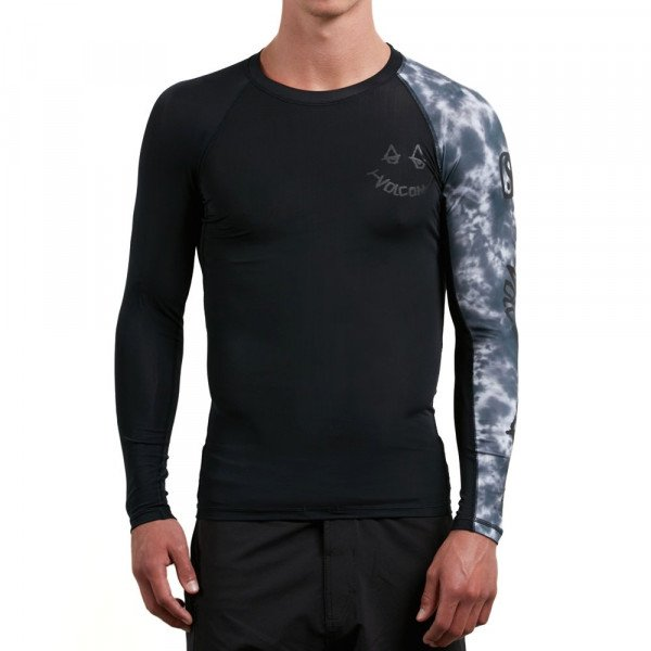 VOLCOM LIKRA CHILL OUT L/S BLK S18
