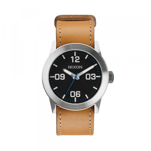 NIXON PULKSTENIS PRIVATE NATURAL/BLACK