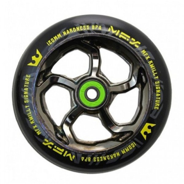 MGP DETAĻA 120 MM MFX WHEEL R WILLY SIGNATURE NICKEL PLATED