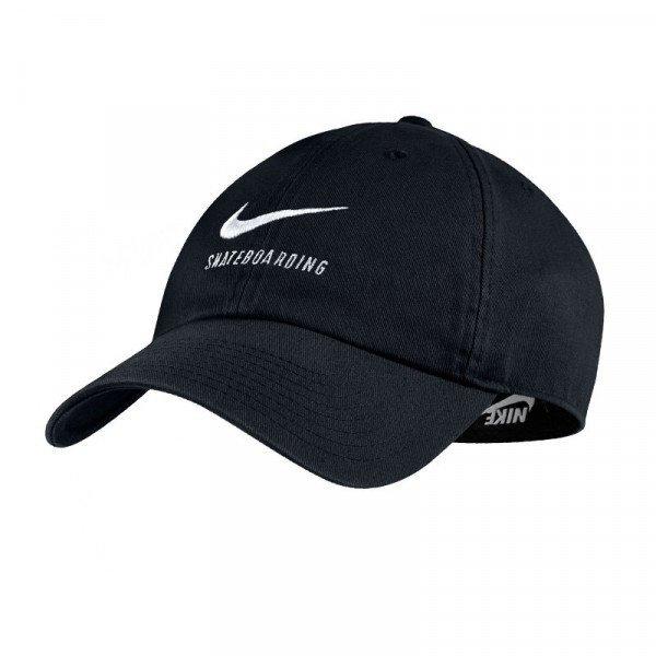 NIKE CEPURE NK H86 CAP TWILL BLACK BLACK WHITE S18