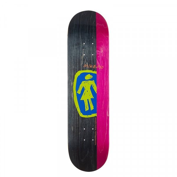 GIRL SK8KLĀJS MIKE MO SKETCHY OG DECK 8