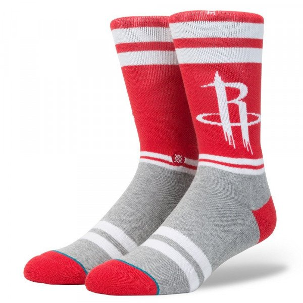 STANCE ZEĶES NBA ARENA CITY GYM ROCKETS WHITE