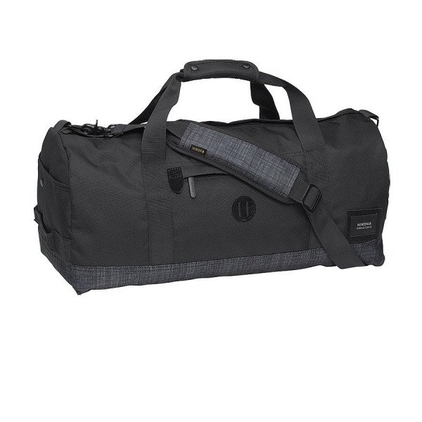 NIXON SOMA PIPES DUFFLE BLACK BLACK WASH