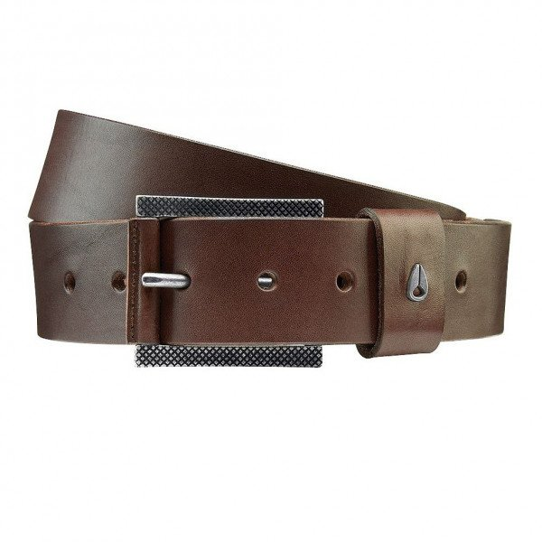 NIXON JOSTA AMERICANA BELT II DARK BROWN